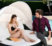 Stella Cox - Feet First by the Pool - 21Sextury 2