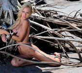 Busty Grazie At The Beach - NuErotica 11