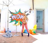 Sarah Vandella - Adorable Blonde Gapes Graphically 15