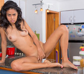 Susy Salome kitchen nudes 18