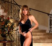 Angela Sommers - Blue Velvet Dress 3