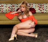 Angela Sommers - Orange Dress Strip & Spread 7