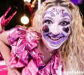 Leya at the Clown Strip Club - Leya Falcon 4