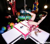 Leya at the Clown Strip Club - Leya Falcon 6