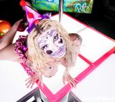 Leya at the Clown Strip Club - Leya Falcon 9