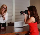 Angela Sommers Lesbian with Akira Lane 2