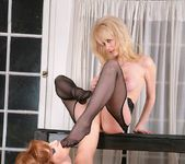 Stockings Spanking With Vanessa 11