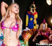 Crazy Clown Strip Club lesbian fucking! - Alix Lynx 2
