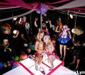 Crazy Clown Strip Club lesbian fucking! - Alix Lynx 7