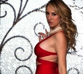 Brett takes off her red outfit - Brett Rossi 2