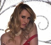 Brett takes off her red outfit - Brett Rossi 4
