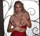 Brett takes off her red outfit - Brett Rossi 5