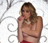 Brett takes off her red outfit - Brett Rossi 8
