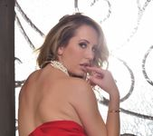Brett takes off her red outfit - Brett Rossi 15