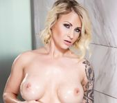 Daisy soaps up in the shower - Daisy Monroe 7