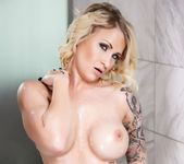 Daisy soaps up in the shower - Daisy Monroe 9