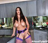 Alison Masturbates in the kitchen - Alison Tyler 10