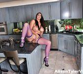 Alison Masturbates in the kitchen - Alison Tyler 12
