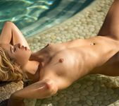 Goldie - poolside blonde with giant nips 15