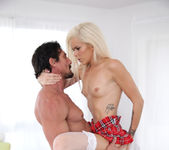 Halle Von - Up with Skirts - Petite HD Porn 12