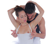 Riley Reid - Petite Dancer Swallows Big Cock 6
