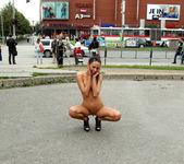 Gina Devine - Nude in Public - ALS Scan 15