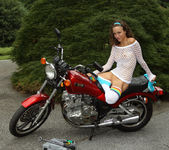 Malena Morgan - Grease Monkey - ALS Scan 8