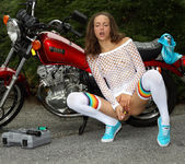 Malena Morgan - Grease Monkey - ALS Scan 11