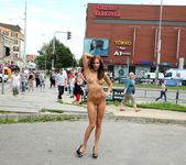 Michaela Isizzu - Nude in Public - ALS Scan 6