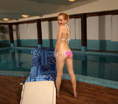 Alice Conrad, Cayenne - Poolside Spectacle - ALS Scan 2