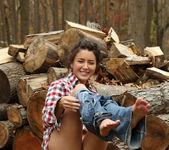 Daisy Haze - Lumberjill - ALS Scan 5