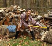 Daisy Haze - Lumberjill - ALS Scan 6