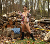 Daisy Haze - Lumberjill - ALS Scan 9