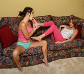 Daisy Haze, Marina Angel - Footsies - ALS Scan 2