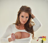 Silvia - Tight White Dress - FTV Milfs 4
