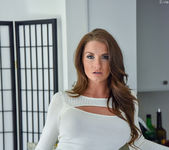Silvia - Tight White Dress - FTV Milfs 8