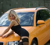 Valentina A - Yellow Car 1 - Erotic Beauty 3