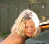 Valentina A - Yellow Car 1 - Erotic Beauty 15