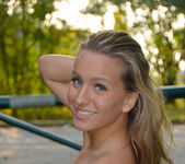 Ness - In The Park - Erotic Beauty 16