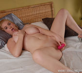 Plump Blonde Babe Kali West and Her Toys 13