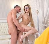 Teen Student Sonia Sweet Gets Cum on Her Glasses - Private 8