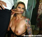 Brooke Brand takes a massive English cock! 10