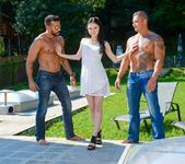 Crystal Greenvelle, Vinny Star - Twice the Shaft - 21Sextury 2