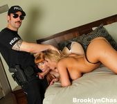 Lucky policeman Alex bangs Brooklyn and Penny 2