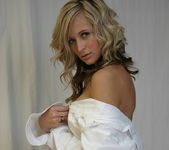 London Hart - White Dress Shirt - SpunkyAngels 9