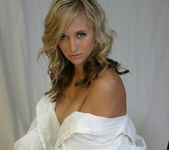 London Hart - White Dress Shirt - SpunkyAngels 10