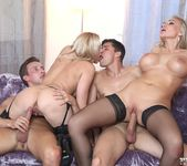 Busty Milfs Kayla Green and Lili Have a Hot Orgy - Private 7