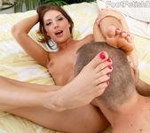 Elena Koshka Foot Massage Leads to Footjob 10