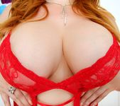 Lauren Phillips - Curvy Redhead's Butthole Tricks 3