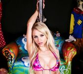 Alix at the clown strip club - Alix Lynx 2